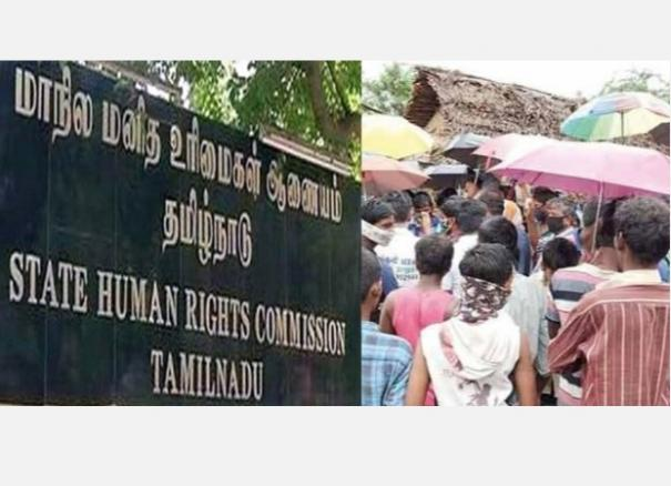 hut-collapses-and-kills-woman-officers-who-hijacked-government-houses-state-human-rights-commission-case
