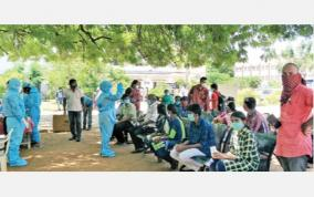 trichy-corona-test-under-tree
