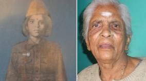 gandhimathi-bai-cadet-in-netaji-sina-passes-away
