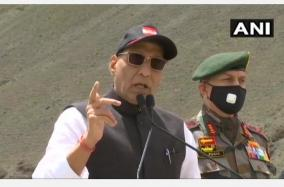 india-not-a-weak-country-no-power-in-the-world-can-touch-even-an-inch-of-its-land-rajnath-in-ladakh