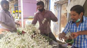 tenkasi-corona-curfew-has-made-the-life-of-flower-merchants-fragrant-less