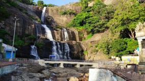 aadi-amavasai-courtallam-looks-desserted