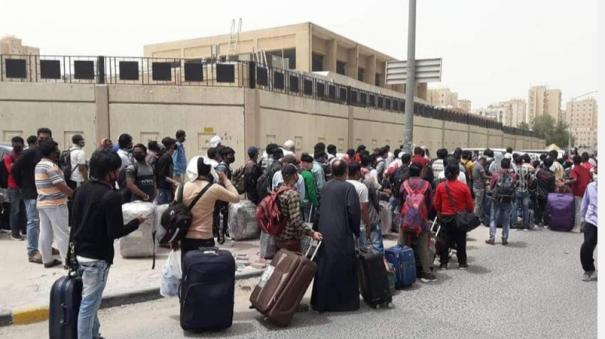 indian-workers-displaced-in-kuwait-allegation-that-the-indian-embassy-is-lax