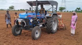 adi-pattam-kovilpatti-farmers-start-sowing-groundnut