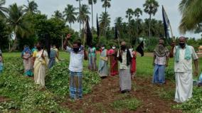 farmers-protest-against-salem-chennai-eightway-road