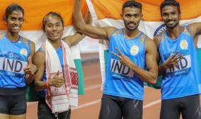 indian-mixed-relay-team-handed-asian-games-gold-as-bahrain-disqualified