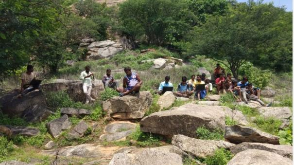 internet-problem-near-ambur-village-youths-invading-the-forest