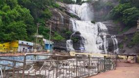 tenkasi-courtallam-receives-heavy-rainfall