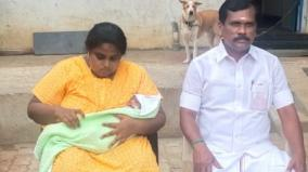 admk-mla-admits-wife-in-gh-for-delivery-sets-an-example-for-the-public