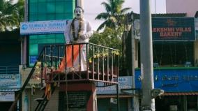saffron-cloth-at-anna-statue-in-kanyakumari