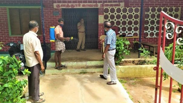 kulathur-station-closed-as-si-tests-positive-for-corona
