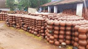 corona-curfew-badly-affects-the-lives-of-clay-pottery-workers