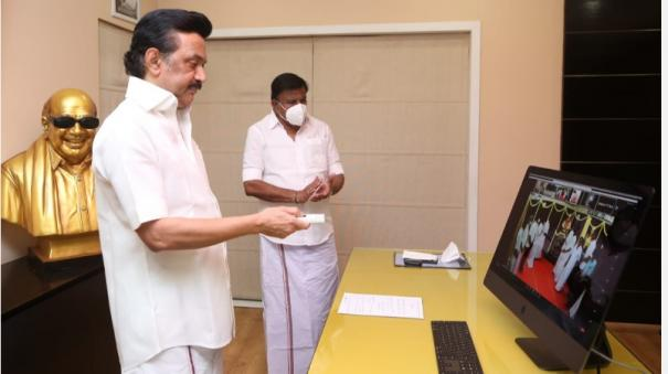 i-am-proud-to-be-the-son-of-an-kalaingnar-stalin-s-speech-at-the-thirukuvalai-statue-function