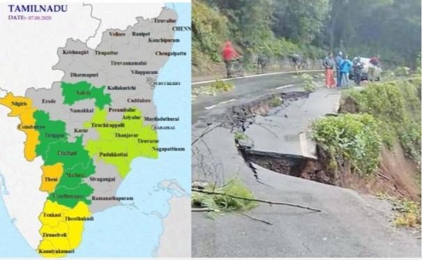 southwest-monsoon-intensifies-heavy-rains-in-nilgiris-coimbatore-and-theni-districts-meteorological-department-warns