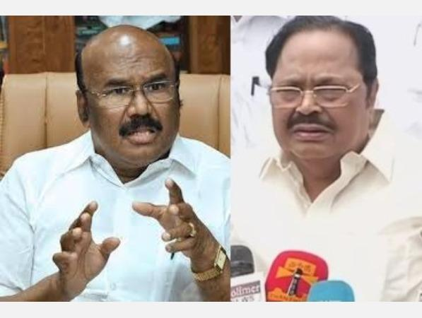 dmk-as-a-blazing-fire-next-wicket-dhuraimurugan-minister-jayakumar