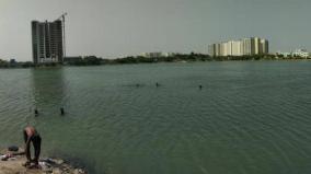 perungudi-lake