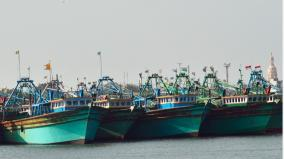 tutucorin-motor-boat-fishermen-abstain-from-fishing-due-to-heavy-rains