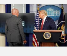 u-s-president-donald-trump-abruptly-escorted-from-briefing-after-shooting-near-white-house