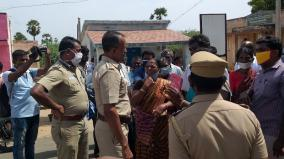 village-people-oppose-laying-ht-electric-poles-vembar-periyasamypuram