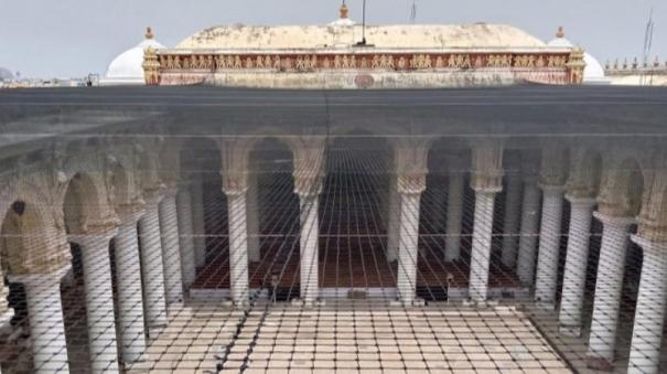 thirumalai-naicker-mahal-renovation-work-to-be-completed
