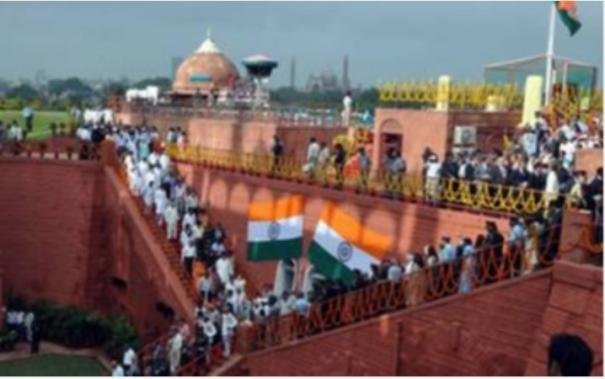 special-arrangements-made-by-mod-for-independence-day-celebrations-at-red-fort-tomorrow-in-view-of-covid-19