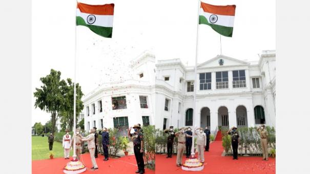 the-governor-flagged-off-the-74th-independence-day-at-raj-bhavan