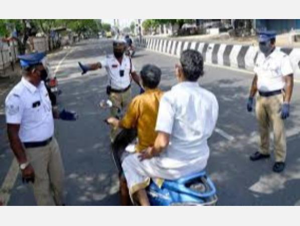 30-hour-full-curfew-do-not-come-out-without-medical-reason-chennai-traffic-police-warning