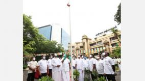 74th-independence-day-stalin-hoisted-the-national-flag-at-the-academy
