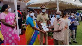 independence-day-celebrations-held-simply-in-the-nilgiris-district-collector-flagged-off