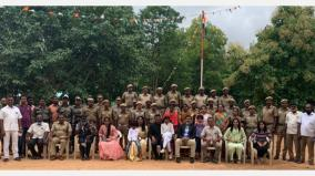 independence-day-celebration-at-hosur-forest-reserve-award-for-18-people-including-2-rangers