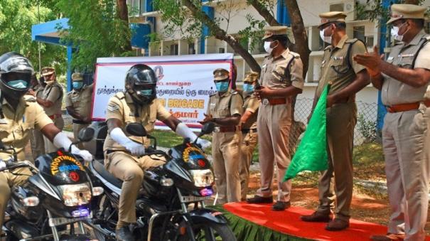 tutucorin-police-department-begins-brigade-motor-cycle-patroling