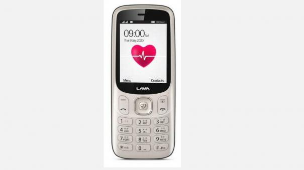 lava-launches-feature-phone-with-heartbeat-bp-sensor