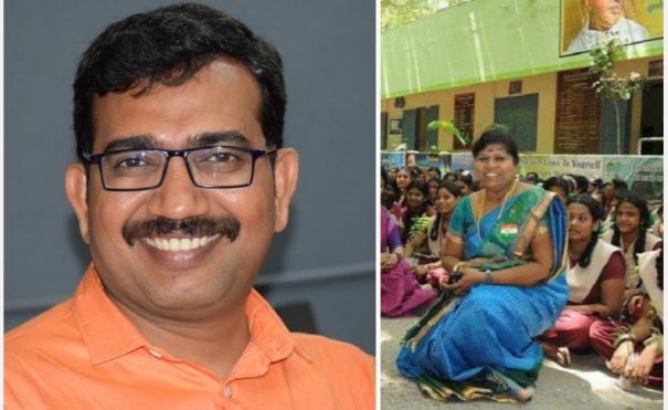 national-best-teacher-award-for-anbasiriyar-dileep-and-saraswathi