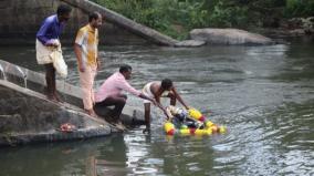 kanyakumari-vinayagar-statues-immersion-begins