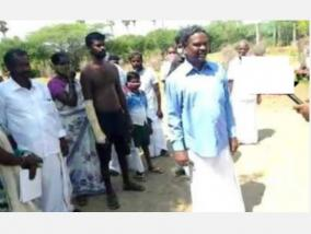 retired-high-court-judge-protests-in-front-of-police-station-human-rights-commission-issues-notice-to-sivagangai-sp