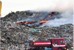 singanallur-dmk-mla-announces-protest-against-non-launch-of-bio-mining-at-vellalore-landfill