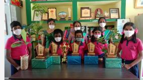 saplings-gifted-to-students-who-complete-5th-class-and-go-to-another-school-near-krishnagiri