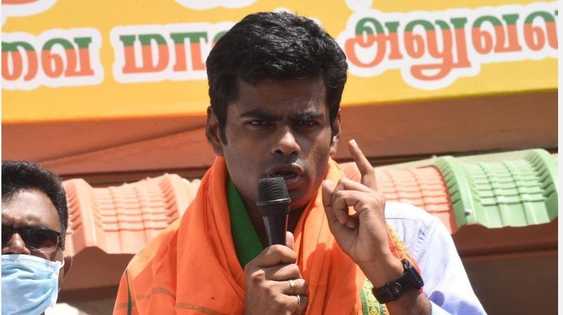 தமிழகத்தின் வளர்ச்சி கடந்த 20 ஆண்டுகளாகத் தடைப்பட்டு நின்றுவிட்டது:  முன்னாள் ஐபிஎஸ் அதிகாரி அண்ணாமலை குற்றச்சாட்டு   Tamil Nadu's development  stalled ...