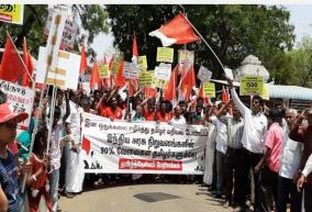 tamil-nadu-jobs-are-for-tamils-protest-in-front-of-ponmalai-railway-workshop-tamil-national-congress-announcement