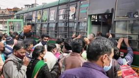 crowd-in-buses
