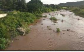 floods-in-thottalla-forest-near-hosur-farmers-demand-to-build-a-dam-to-collect-water