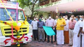 minister-rajendra-balaji-flags-off-the-service-of-new-ambulances