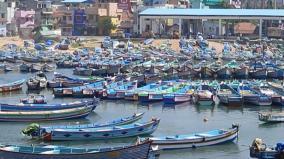 kumari-district-gusty-winds-restrict-fishermen