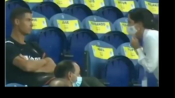 cristiano-ronaldo-forgot-to-wear-a-face-mask-in-the-stands