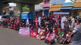 protest-in-tenkasi-condemning-micro-finance-institutions
