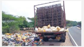 kerala-waste-in-tamil-nadu-villages