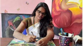 thirukkural-in-the-form-of-a-daily-painting-somiya-who-develops-tamil-with-a-brush