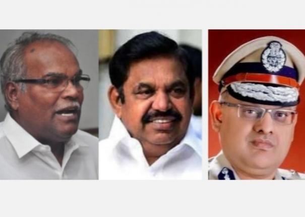 tamil-nadu-ips-officer-s-violation-of-uniform-service-act-letter-to-k-balakrishnan-cm-palanisami