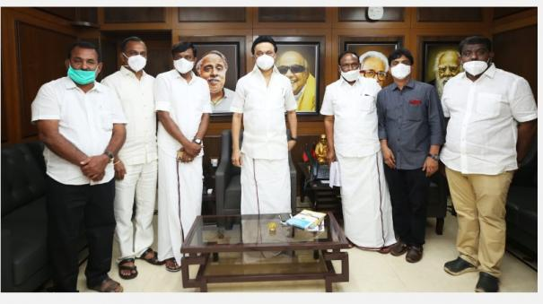 minister-ka-senkottayan-s-nephew-joined-dmk-in-the-presence-of-stalin