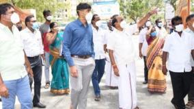 minister-kadambur-raju-inspects-as-cm-visits-tutucorin
